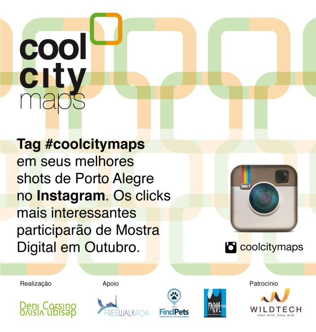 Instagram cool city maps